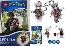 Lego Legends Chima Worriz Lion Tribe Leader Twin LED Key Light Keyring LGL-KE35