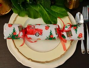 Christmas Cracker, Reusable Fabric Crackers, Eco Friendly Crackers, Zero Waste,