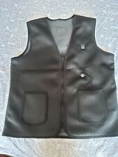 Usb heated body warmer Gilet Black Size S M medium