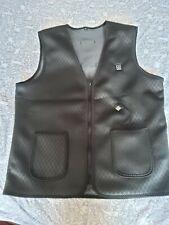 Usb heated body warmer Gilet Black Size S M medium