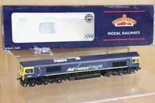 BACHMANN 32-729 RE PAINTED BR ADVENZA FREIGHT CLASS 66 DIESEL LOCO 66841 nt