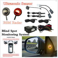 Coche sistema de monitoreo de detección de punto ciego ayudar a cambio de carril de sensor de ultrasonidos