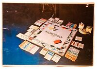 Vintage 1974 PARKER BROTHERS MONOPOLY Board Game No. 11