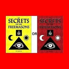 MASONIC FREE MASON BOOK:SECRETS OF MASONRY,FREEMASON,FREEMASONRY-LEARN TRUTH+MOR