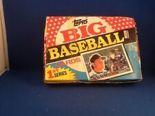 Topps 1989 Big Baseball Cards Series 1