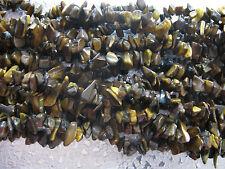 TigerEye Gemstone Beads Chips 12 inch Strand