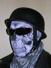 foulard moto tete de mort bandana chopper full face mask scarf ski moto neoprene