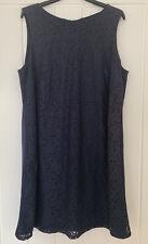 Ladies ✨ Navy Lace Shift Dress ✨ Size 18