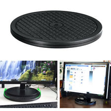 Heavy Duty Rotating Turntable Display Stand 65lbs Capacity TV Monitor 360 Swivel