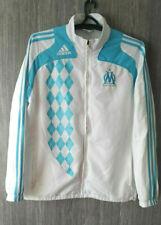 Adidas Olympique Marseille Longsleeve Zip Jacket Soccer Jersey Shirt Mens Sz XL