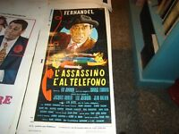 L'Assassin And 'A Phone Film Original 1961 Fernandel Before Edition