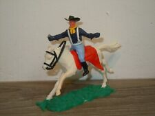 Cowboy on Horse - Plastic Toy - Timpo Toys England *37782