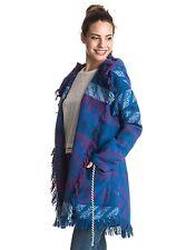 Roxy Santa Katalina Wrap Jacket Blue Sz Medium ERJJK03144