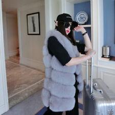 Cappotti, giacche e gilet da donna grigi pelliccia