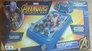 Marvel Avengers Infinity Wars Super Pinball Sambro