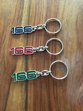 Alfa Romeo 166 NEW GENUINE keyring Red, Green or Blue 5I5 AJC