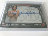 2016 Topps UFC Archival Autograph Michelle Waterson 21/99 Card# AA-MW