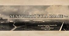 1916 Cincinnati Motor Speedway 1st Int'l Sweepstake Race Panoramic Photo #2