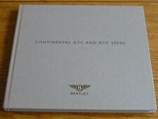 BENTLEY CONTINENTAL GTC & GTC SPEED PRESTIGE, HARDBACKED BROCHURE 2009 jm