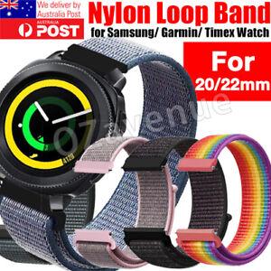 For Garmin Vivoactive 3 /Forerunner 645 Music/Vivomove HR Bands 20mm Nylon Strap