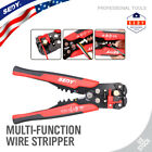 "8"" Self-Adjusting Wire stripper Cable Cutter Crimper Electricians Crimping Tool"