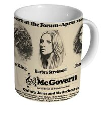 Barbra Streisand Carol King James Taylor Concert at Forum MUG