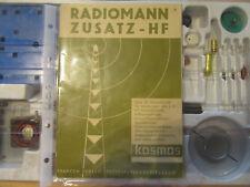 Kosmos Zusatzkasten HF Baukasten RADIOMANN fast UNBESPIELT TOP