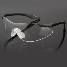 cc77892b75 NEW RADIANS SAFETY GLASSES BLACK FRAME CLEAR LENS PREMIUM QUALITY SHOOTING