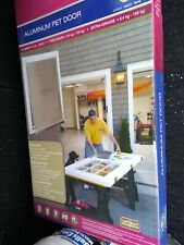 PetSafe Freedom Aluminum Dog Pet Door X-Large (12-220 lb).New hpa11-11601