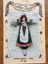 """Craft Wood Pattern """"Annie Angel"""""""