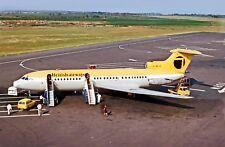 British Airways Nortneast HS.121 Trident 1E-140 G-AVYB at Newcastle Postcard