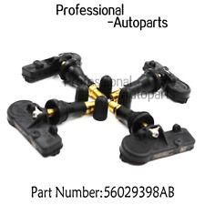 4PCS 56029398AB TPMS Tire Pressure Sensor 433Mhz Fit Chrysler Dodge Jeep Ram