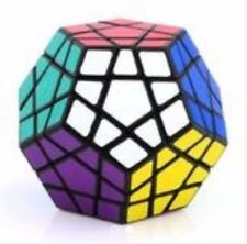 Rubik's Megaminx Fanxin Speed Cube Black Body