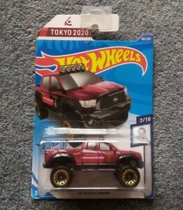 Hot Wheels Olympic Games Tokyo 2020 '10 Toyota Tundra Diecast Model On Long Card