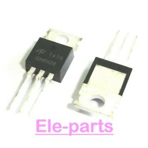 5 PCS AOT470 TO-220 AO T470  75V N-Channel MOSFET Transistor