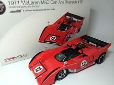 1971 BRUCE McLAREN M8D CAN-AM RACING TSM 121803 RIVERSIDE 1:18 MODEL PAUL NEWMAN