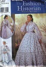 McCain Reenactment dress pattern costume civil war 6-12