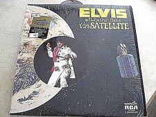 "ELVIS PRESLEY ""ALOHA FROM HAWAII"" RCA (2XLPS QUADRA DISC  SHRINK EX w/ HYPE)"