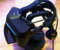 Pimax 5K XR OLED VR Headset + HTC Vive Deluxe Audio Strap (Only hinges and clip)