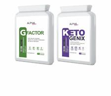 Alpha Femme Keto Genix 1X 60 CAPSULES & G FACTOR Estreme Weight Loss 60 CAPSULES