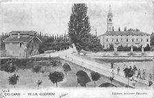 Cartolina Calcara Villa Guerrini animata anni '20