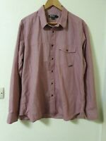Barbour Motorcycle Clothing Shirt Purple Size XL
