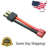 Charge Cable Adapter: for T-Plug Deans Female to Traxxas TRX Male LiPo M607