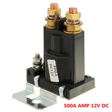 4 Pin Black Over 500A AMP 12V DC Relay On/Off Car Auto Power Switch Plastic