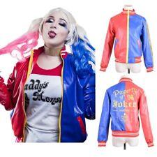 Licensed Ladies Harley Quinn Top Harley Quinn's Jacket SUICIDE SQUAD Costume