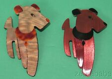 Lea Stein Ric the Terrior Dog Pin ONE ONLY (Select Your Choice)