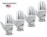 (4) Mens Cabretta Golf Gloves (Right Hand)