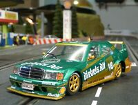 SLOT it MERCEDES 190E Team Diebels in 1:32 auch für Carrera Evolution    SICA44A