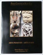 ART PRIMITIF AFRICAIN & OCEANIEN - CATALOGUE VENTE CORNETTE 13 DECEMBRE 1999
