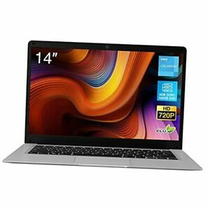 2021 New  CosBook Windows 10 Laptop, 14 inches HD Clear Display, Intel Celeron